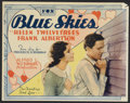 "Movie Posters:Romance, Blue Skies (Fox, 1929). Title Lobby Card and Lobby Card (11"" X14""). Romance.... (Total: 2 Items)"