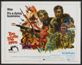 "Movie Posters:War, Too Late the Hero Lot (Cinerama Releasing, 1970). Half Sheets (2)(22"" X 28""). War.... (Total: 2 Items)"
