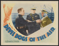 "Movie Posters:Action, Devil Dogs of the Air (Warner Brothers, 1935). Lobby Card (11"" X14""). Action...."