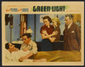 "Movie Posters:Drama, Green Light (Warner Brothers, 1937). Lobby Card (11"" X 14""). Drama...."