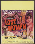 """Movie Posters:Science Fiction, Mesa of Lost Women (Howco, 1952). Jumbo Window Card (22"""" X 28"""").Science Fiction...."""