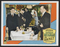 """Movie Posters:Crime, The Racket (Paramount, 1928). Lobby Cards (2) (11"""" X 14"""").Crime.... (Total: 2 Items)"""
