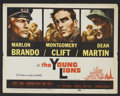 "Movie Posters:War, The Young Lions Lot(20th Century Fox, 1958). Lobby Cards (9) (11"" X14""). War.... (Total: 9 Items)"