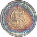 Seated Quarters, 1881 25C MS67 ★ NGC....