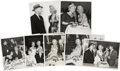Movie/TV Memorabilia:Autographs and Signed Items, Marilyn Monroe Candid Photos, Including Her with Joe DiMaggio....(Total: 6 Items)