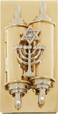 Movie/TV Memorabilia:Memorabilia, Sammy Davis Jr.'s Star of David Money Clip....