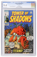 Bronze Age (1970-1979):Horror, Tower of Shadows #7 (Marvel, 1970) CGC NM 9.4 White pages....
