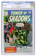 Bronze Age (1970-1979):Horror, Tower of Shadows #9 (Marvel, 1971) CGC VF/NM 9.0 Off-white to whitepages....