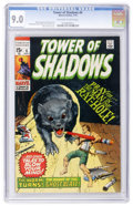 Bronze Age (1970-1979):Horror, Tower of Shadows #6 (Marvel, 1970) CGC VF/NM 9.0 Off-white to whitepages....