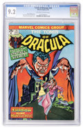 Bronze Age (1970-1979):Horror, Tomb of Dracula #23 (Marvel, 1974) CGC NM- 9.2 Off-white to whitepages....