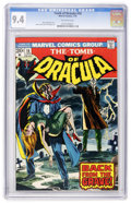 Bronze Age (1970-1979):Horror, Tomb of Dracula #16 (Marvel, 1974) CGC NM 9.4 Off-white pages....