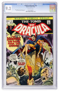 Bronze Age (1970-1979):Horror, Tomb of Dracula #14 (Marvel, 1973) CGC NM- 9.2 Off-white pages....