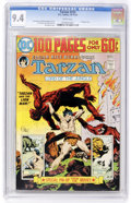 Bronze Age (1970-1979):Adventure, Tarzan #233 (DC, 1974) CGC NM 9.4 White pages....