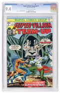 Bronze Age (1970-1979):Superhero, Super-Villain Team-Up #1 (Marvel, 1975) CGC NM 9.4 Off-white to white pages....