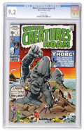 Bronze Age (1970-1979):Horror, Where Creatures Roam #3 (Marvel, 1970) CGC NM- 9.2 White pages....