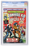 Bronze Age (1970-1979):Western, Western Team-Up #1 (Marvel, 1973) CGC NM- 9.2 Off-white pages....