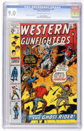 Bronze Age (1970-1979):Western, Western Gunfighters #3 (Marvel, 1970) CGC VF/NM 9.0 Off-white to white pages....