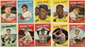 Baseball Cards:Lots, 1959 Topps Baseball Collection (185 Different). ...
