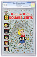 Silver Age (1956-1969):Humor, Richie Rich Dollars and Cents #9 File Copy (Harvey, 1965) CGC NM/MT 9.8 Off-white to white pages....
