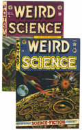 Golden Age (1938-1955):Horror, Weird Science #11 and 17 Group (EC, 1952-53) Condition: AverageVG.... (Total: 2 Items)