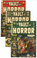 Golden Age (1938-1955):Horror, Vault of Horror Group (EC, 1951-54) Condition: Average VG/FN....(Total: 4 Items)