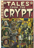 Golden Age (1938-1955):Horror, Tales From the Crypt #33 (EC, 1952) Condition: FN+....