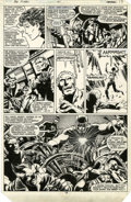 "Original Comic Art:Panel Pages, John Byrne and Terry Austin The Uncanny X-Men #141 ""Days ofFuture Past"" page 19 Original Art (Marvel, 1981)...."