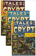 Golden Age (1938-1955):Horror, Tales From the Crypt #36, 42, and 45 Group (EC, 1953-54) Condition:Average VG.... (Total: 3 Items)