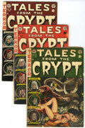 Golden Age (1938-1955):Horror, Tales From the Crypt Group (EC, 1952-54) Condition: Average VG....(Total: 4 Items)