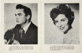 Music Memorabilia:Autographs and Signed Items, Johnny Cash and June Carter Signed Program Book (1962)....