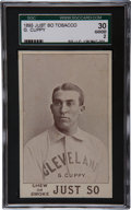 Baseball Cards:Singles (Pre-1930), 1893 Just So Tobacco Nig Cuppy SGC 30 GD 2....