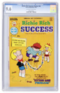 Bronze Age (1970-1979):Cartoon Character, Richie Rich Success Stories #64 (Harvey, 1975) CGC NM+ 9.6Off-white to white pages....