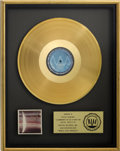 Music Memorabilia:Awards, Beatles Related - Steve Howard's Wings Over America RIAAGold Album Award....