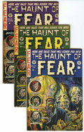 Golden Age (1938-1955):Horror, Haunt of Fear Group (EC, 1953-54) Condition: Average VG.... (Total:4 Items)