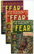Golden Age (1938-1955):Horror, Haunt of Fear Group (EC, 1953-54) Condition: Average VG/FN....(Total: 4 Items)