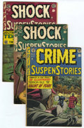 Golden Age (1938-1955):Science Fiction, EC Comics Group (EC, 1952-55) Condition: Average VG-.... (Total: 3Items)