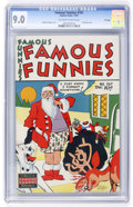 Golden Age (1938-1955):Miscellaneous, Famous Funnies #161 File Copy (Eastern Color, 1947) CGC VF/NM 9.0 Off-white to white pages....