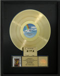 Music Memorabilia:Awards, Elton John Reg Strikes Back RIAA Gold Album Sales Award....