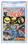 Bronze Age (1970-1979):Horror, Tomb of Dracula #15 (Marvel, 1973) CGC NM+ 9.6 White pages....