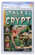 Golden Age (1938-1955):Horror, Tales From the Crypt #40 (EC, 1954) CGC FN/VF 7.0 Off-whitepages....