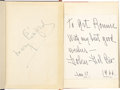 Movie/TV Memorabilia:Autographs and Signed Items, Mary Pickford and Dolores Del Rio Signed Books.... (Total: 2 Items)