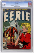 Golden Age (1938-1955):Horror, Eerie #13 (Avon, 1953) CGC FN 6.0 Off-white to white pages....