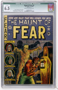 Golden Age (1938-1955):Horror, Haunt of Fear #4 (EC, 1950) CGC Qualified FN+ 6.5 Cream tooff-white pages....
