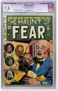 Golden Age (1938-1955):Horror, Haunt of Fear #8 (EC, 1951) CGC Apparent VF- 7.5 Slight (P) Creamto off-white pages....