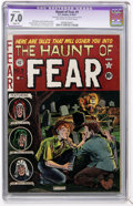 Golden Age (1938-1955):Horror, Haunt of Fear #9 (EC, 1951) CGC Apparent FN/VF 7.0 Slight (P)Off-white to white pages....