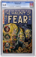 Golden Age (1938-1955):Horror, Haunt of Fear #17 (EC, 1953) CGC VG/FN 5.0 Light tan to off-whitepages....