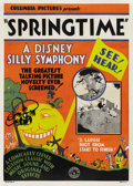 "Movie Posters:Animated, Springtime (Columbia, 1929). One Sheet (27"" X 41""). ..."