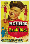"Movie Posters:Comedy, The Bank Dick (Universal, 1940). One Sheet (27"" X 41"") Style C...."