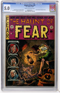 Golden Age (1938-1955):Horror, Haunt of Fear #24 (EC, 1954) CGC VG/FN 5.0 Cream to off-whitepages....