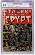 Golden Age (1938-1955):Horror, Tales From the Crypt #30 (EC, 1952) CGC Apparent VF 8.0 Slight (P)Cream to off-white pages....